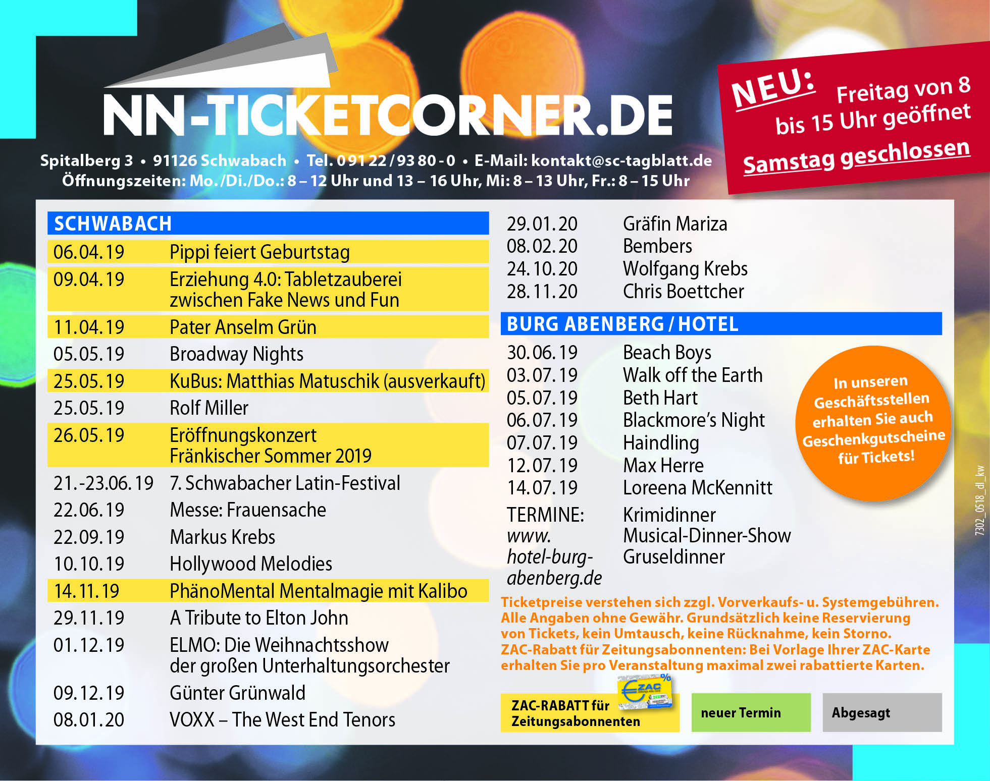 TicketPoint KW13.2019